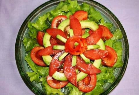 Салат из минтая
