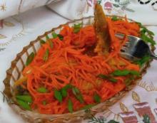 Селедка под морковью