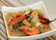 Заправочный рыбный суп