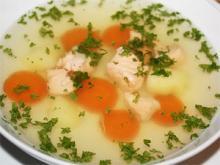 Суп из лосося уха